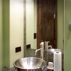 Contemporary Powder Room by Locati Architects