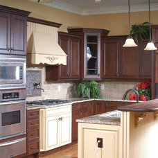 Traditional Kitchen Cabinets by Green Depot