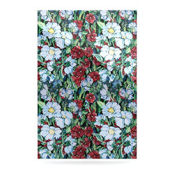 """Kess InHouse - DLKG Design """"Giardino"""" Garden Flowers Metal Luxe Panel (24"""" x 36"""") - Our luxe KESS InHouse art panels are the perfect addition to your super fab living room, dining room, bedroom or bathroom. Heck, we have customers that have them in their sunrooms. These items are the art equivalent to flat screens. They offer a bright splash of color in a sleek and elegant way. They are available in square and rectangle sizes. Comes with a shadow mount for an even sleeker finish. By infusing the dyes of the artwork directly onto specially coated metal panels, the artwork is extremely durable and will showcase the exceptional detail. Use them together to make large art installations or showcase them individually. Our KESS InHouse Art Panels will jump off your walls. We can't wait to see what our interior design savvy clients will come up with next."""