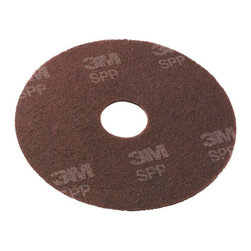 3M CORPORATION - C-SCOTCH-BRITE SURF PREP PAD 13IN BRO 10 - Requires only neutral cleaner or water to effectively remove floor finish, preparing the floor for finish application. Can be used on vinyl tile, marble, terrazzo, concrete and other floor types. No need for harsh chemical floor strippers.. . . . Disc. 13. . . Scotch-Brite™ Surface Prep Pads. Dimensions: Height: 1, Length: 0.7, Width: 1. Country of Origin: CA   CAT: Floor & Carpet Care Floor Pads Low Speed