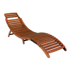 Great Deal Furniture - Lisbon Folding Chaise Lounge Chair - Our Lisbon Folding Chaise Lounge Chair provides you a wonderful spot to tan or lay down and enjoy a book or magazine. The natural yellow color works great with any outdoor patio or placed next to the pool.