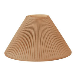Royal Designs, Inc. - Mushroom Pleated Designer Lampshade - This Mushroom Pleated Designer Lampshade is a part of Royal Designs, Inc. Timeless Designer Shade Collection and is perfect for anyone who is looking for an elegant yet detailed lampshade. Royal Designs has been in the lampshade business since 1993 with their multiple shade lines that exemplify handcrafted quality and value.