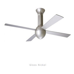 """Modern Fan - Modern Fan Eclipse ceiling fan - The Eclipse ceiling fan was designed by Ron Rezek for The Modern Fan Co. The Eclipse fan marks a departure from pure modernism and explores an alternative, Nouveau influence. The triple down rod system gives the Eclipse its unique appearance, marked by graceful and elegant continuity.  Product Details:   The Eclipse ceiling fan was designed by Ron Rezek for The Modern Fan Co. The Eclipse fan marks a departure from pure modernism and explores an alternative, Nouveau influence. The triple down rod system gives the Eclipse its unique appearance, marked by graceful and elegant continuity.                                     Manufacturer:                                      The Modern Fan Company                                                     Designer:                                     Ron Rezek                                                     Made in:                                     USA                                                     Dimensions:                                      Height: 18"""" (45.7 cm) X Blade Span: 42"""" (106.7 cm) or 52"""" (132.1 cm)                                                     Light Bulb:                                     1 X 75W Halogen or 1 X 18W Energy Saving CFL"""