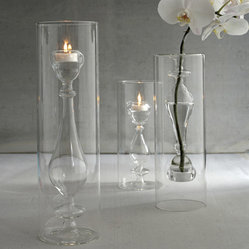 Light Opera Set of 3 Candlestick Tealight by Two