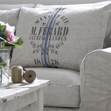 Traditional Pillows by French Charmed