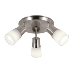 Trans Globe Lighting - Trans Globe Lighting W-800 BN Track Light In Brushed Nickel - Part Number: W-800 BN