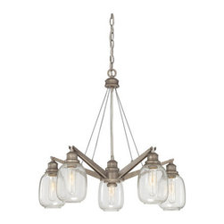Savoy House - Savoy House 1-4330-5 Orsay 5 Light Chandelier - Features: