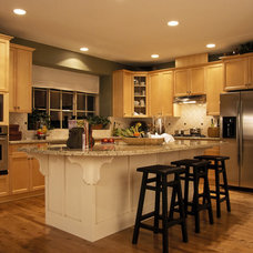 Traditional Kitchen Cabinetry by Benchmark Home Improvements