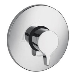 """Hansgrohe - Hansgrohe Metris Valve Trim Pressure Balanced w/ Lever Handle Less Valve - Metris Valve Trim Pressure Balanced with Metal Lever Handle Less ValveFeatures: Lever HandleFlow 6.54 GPM @ 44 PSI7/8 Inch Shallow Extension Set 13596 (Not Included)Fits Rough In 01850 (Required)Specifications: Length: 5.5""""Width: 7.75""""Height: 10.75""""Depth: .625""""Diameter: 6.75"""""""