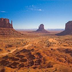 Magic Murals - Three Mittens Desert Rocks Wallpaper Wall Mural - Self-Adhesive - Multiple Sizes - Three Mittens Desert Rocks Wall Mural