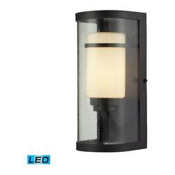 ELK Lighting - One Light Oiled Bronze Outdoor Wall Light - One Light Oiled Bronze Outdoor Wall Light