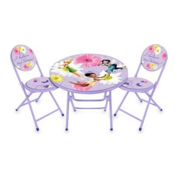 Disney - Disney Fairies Table and Chairs Set - Table and chairs set is perfect for your little pixie. Ideal for arts and crafts or homework time.
