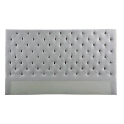 EuroLux Home - New King Bed Fabric Fabric Buttoned FC - Product Details