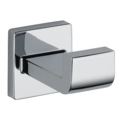 Liberty Hardware - Liberty Hardware 77535 Delta Arzo - Delta 2.13 Inch Hook - Polished Chrome - Inspired by the geometric designs found in modern furniture and lighting, Razor's angular shape makes a bold statement in any bath. The simple clean minimalist styling is available in Chrome and Brilliance Stainless finishes.. Width - 2.13 Inch,Height - 2.13 Inch,Projection - 3.56 Inch,Finish - Polished Chrome,Weight - 0.9 Lbs