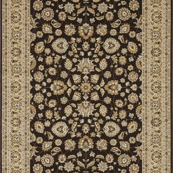 "Loloi Rugs - Loloi Rugs Welbourne Collection - Coffee / Beige, 2'-0"" x 3'-0"" - The Welbourne Collection features a more traditional design with up-to-date colors and styles. Most notably, its densely woven construction contributes to the superior quality of this new power-loomed collection. There is a variety of sizes and color combinations available."