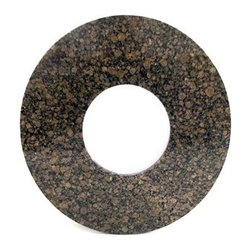 """Meadowcraft - Meadowcraft Baltic Brown Granite 42 Round Firpit Top - Meadowcraft is a leading domestic manufacturer of quality wrought iron furniture and cushions located in Wadley Alabama.  With traditional and post war modern styles utilizing subtle understated designs Meadowcraft furniture is an excellent addition to any home. Whether choosing the deep seating comfort of a cushioned loveseat or the comfortable durability of a commercial grade mesh bistro chair you are invited to relax in all of Meadowcrafts products.  Meadowcraft takes the """"made in the U.S.A."""" label seriously and strives to exceed its perceived responsibilities to their customers and community.  Features include Round slick shape Features textured desing."""