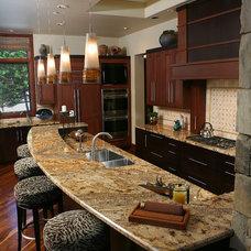 Contemporary Kitchen by Speas Interior Design
