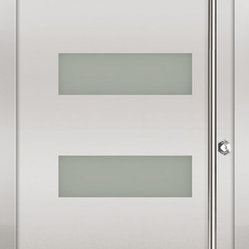 Milano-14 Stainless Exterior Door
