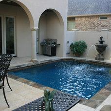 Mediterranean Swimming Pools And Spas by Pulliam Pools
