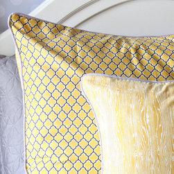 Caden Lane - Vintage Gray Pillow Sham - Vintage Gray Pillow Sham