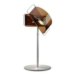 Pablo Designs - Gloss Table Lamp in Bronze - Features: