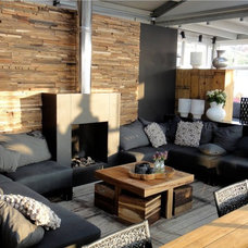 Contemporary Living Room by William Bosc
