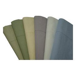 "Bed Linens - Pillow cases Pair Egyptian cotton Percale, King, White - Superior Egyptian cotton Percale Standard/Queen Pillow cases 20x30"" each."