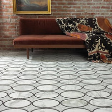 Eclectic Flooring by Cabochon Surfaces & Fixtures