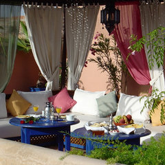 15 Courtyards and Patio Garden Maroccan Style Design and Decorating Ideas » Hom