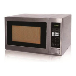 Black & Decker - Black & Decker 1.2 Cu. Ft. Microwave-Grill Stainless Steel - Features: