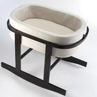 Modern Nanna Bassinet Co-sleeper for Modern Nursery