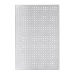 Blomus - Muro Stainless Steel Magnet Board - Rectangular in shape. Made of stainless steel, perforated matte finish. 1-Year manufacturer's defect warranty. 23.7 in. L x 35.55 in. W
