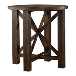 Hooker Furniture - Hooker Furniture Melange Phoenix Accent Table - Hooker Furniture - Accent Tables - 63850092 - Come closer to Melange, and you will discover something unexpected, an eclectic blending of colors, textures and materials in a vibrant collection of one-of-a-kind artistic pieces.