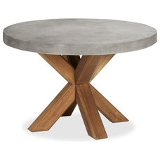 Contemporary Outdoor Dining Tables by Pottery Barn