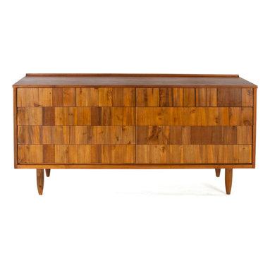 Teak Me Home - Bronson Split Dresser - Solid Reclaimed Teak Wood - 100% Solid Reclaimed Teak