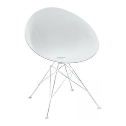 Modway Imports - Modway EEI-1076-WHI Receptivity Side Chair In White - Modway EEI-1076-WHI Receptivity Side Chair In White