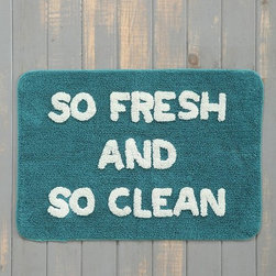'So Fresh and So Clean' Bath Mat - If you are an Outkast fan like I am, then you probably love this bath mat as much as I do. It's perfect for adults' and children's bathrooms alike.