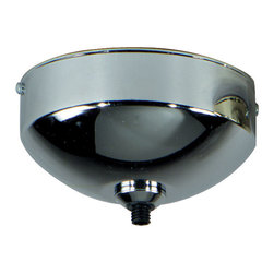 Tech Lighting - Freejack Vaulted Surface Canopy - The FreeJack Surface Vaulted Canopy mounts to a standard 4 inch junction box with round plaster ring (provided by electrician) for use on vaulted ceilings up to 40 degrees. Available in Satin Nickel, Chrome, Antique Bronze, White or Black finish.  It features one FreeJack port for use with any Freejack low voltage halogen pendants or heads.  For ceiling or wall.  If mounting to wall, head should be no longer than 6 inches.  Dimmable with a standard incandescent dimmer.  4.5 inch diameter x 2.3 inches high.  ETL listed.