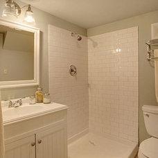 Craftsman Bathroom by Lisa Lucas Design