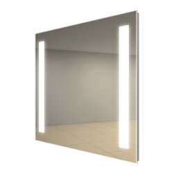 Fusion Lighted Mirror by Electric Mirror -