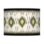 Desert Ikat 13 1/2-Inches-W Lamp Shade -
