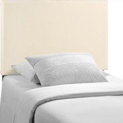 Modway Imports - Modway MOD-5214-IVO Region Twin Upholstered Headboard In Ivory - Modway MOD-5214-IVO Region Twin Upholstered Headboard In Ivory
