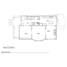 Craftsman Floor Plan by Board and Vellum
