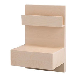 IKEA of Sweden - MALM Nightstand - Nightstand, birch veneer