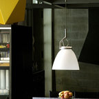 Glass Glass P3 Pendant Lamp By Luceplan Lighting - Glass Glass from Luceplan are diffuser bodies in blown glass with plain and classic forms.