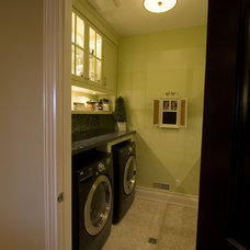 Contemporary Laundry Room by Jennifer Brouwer (Jennifer Brouwer Design Inc)