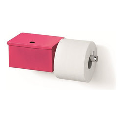 WS Bath Collections - Scondi 5137.16 Toilet Paper Holder with Toilet Paper Storage - Scondi 5137 by WS Bath Collectins Toilet Paper Holder with Toilet Paper Stoarge