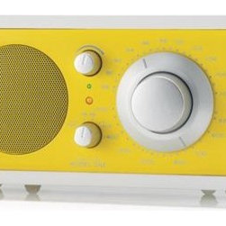 Tivoli Audio Frost White and Yellow Model 1 AM/FM Radio - I think it's time to start getting reacquainted with NPR, and this classic piece will surely inspire the rekindling of that relationship.