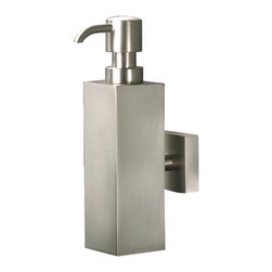 Harmony - Harmony Wall Mount Soap Dispenser in Chrome - Soap Dispenser