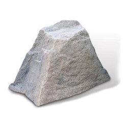 "Dekorra - Fake Rock Vent Pipe Cover-Model 106, Riverbed - 19""L x 14""W x 12""H; 2.5lbs"